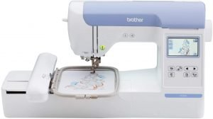 "Brother PE800 Embroidery Machine, 138 Built-in Designs, 5"" x 7"" Hoop Area"