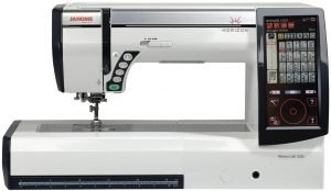 Janome Horizon Memory Craft 12000 Embroidery and Sewing Machine