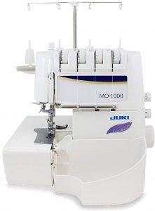 Juki MO-1000 Serger, Push Button Jet Air Looper Threader